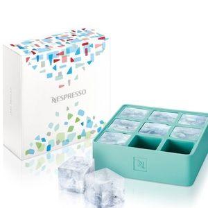 Nespresso silicon ice cube tray
